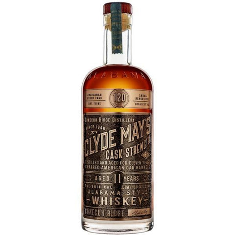 Clyde May's Cask Strength 11 Year Old Alabama-Style Whiskey - De Wine Spot | Curated Whiskey, Small-Batch Wines and Sakes