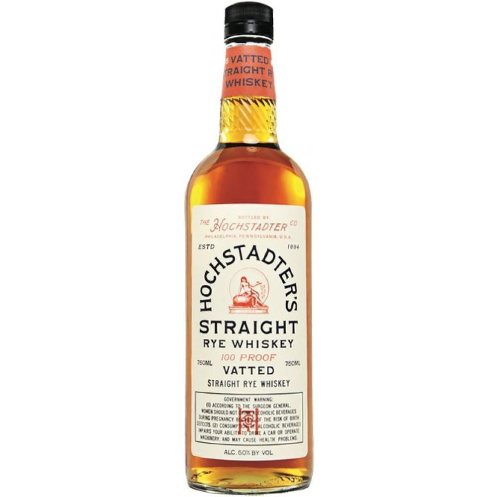 Hochstadter's Vatted Straight Rye Whiskey | De Wine Spot - Curated Whiskey, Small-Batch Wines and Sakes