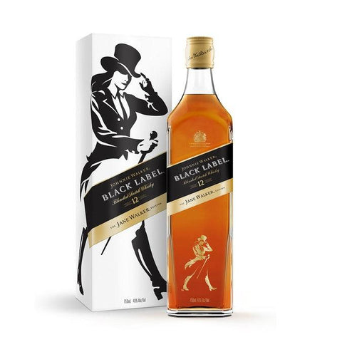 Johnnie Walker Black Label The Jane Walker Edition | De Wine Spot - Curated Whiskey, Small-Batch Wines and Sakes