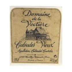 Domaine De La Vectiere Grand Fine Calvados Apple Brandy | De Wine Spot - Curated Whiskey, Small-Batch Wines and Sakes