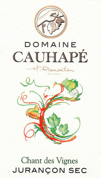Domaine Cauhape Jurancon Sec Chant des Vignes - De Wine Spot | Curated Whiskey, Small-Batch Wines and Sakes