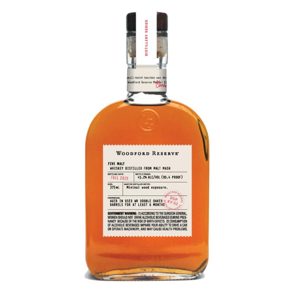 Woodford Reserve Five Malt - De Wine Spot | Curated Whiskey, Small-Batch Wines and Sakes