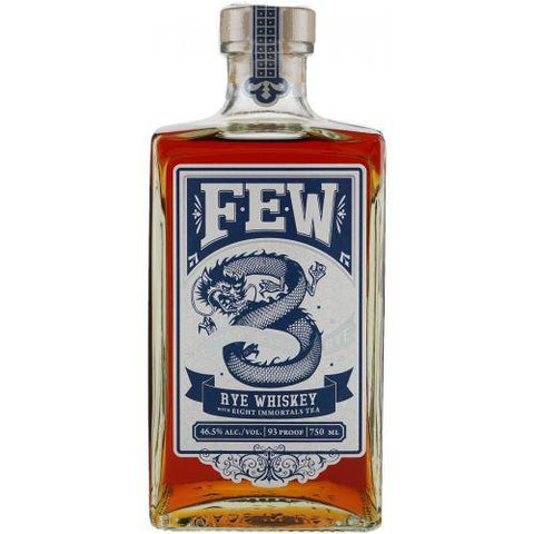 Few Spirits 8 Immortal Rye Whiskey - De Wine Spot | Curated Whiskey, Small-Batch Wines and Sakes