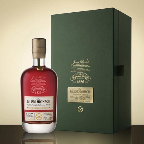 "The GlenDronach 25 Year Old 1991 ""Kingsman Edition"" 