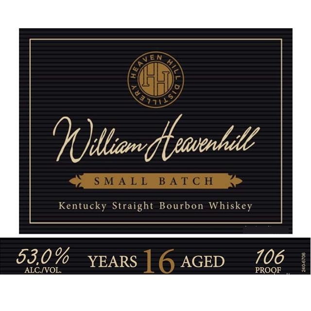 William Heavenhill Small Batch 16 Years Old Kentucky Straight Bourbon - De Wine Spot | Curated Whiskey, Small-Batch Wines and Sakes