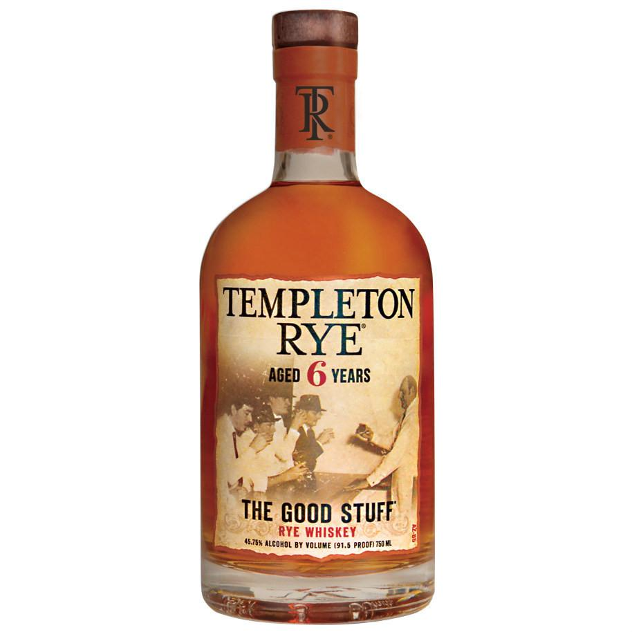 Templeton 6 Years Rye Whiskey | De Wine Spot - Curated Whiskey, Small-Batch Wines and Sakes