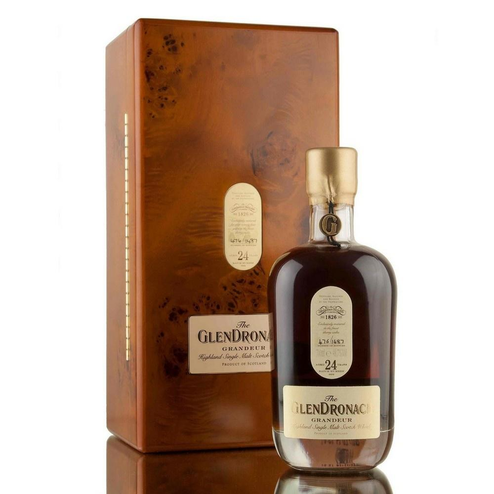 The GlenDronach 24 Years Grandeur Highland Single Malt Scotch Whisky - De Wine Spot | Curated Whiskey, Small-Batch Wines and Sakes