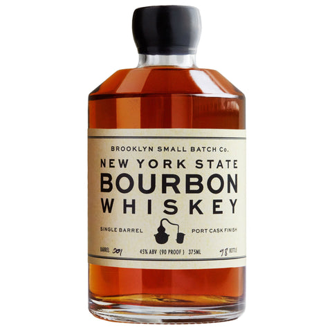 New York State Single Barrel Bourbon Whiskey Port Cask Finish - De Wine Spot | Curated Whiskey, Small-Batch Wines and Sakes