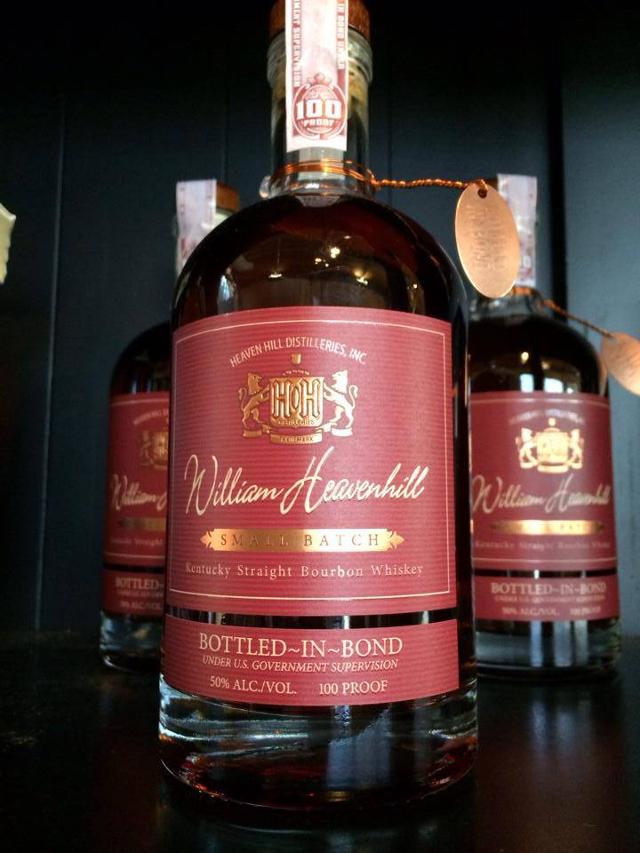 William Heavenhill Small Batch Bottled in Bond Straight Bourbon Whiskey - De Wine Spot | Curated Whiskey, Small-Batch Wines and Sakes