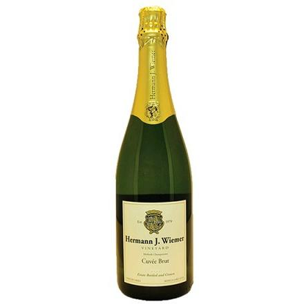 Hermann J. Wiemer Seneca Lake Cuvee Brut | De Wine Spot - Curated Whiskey, Small-Batch Wines and Sakes