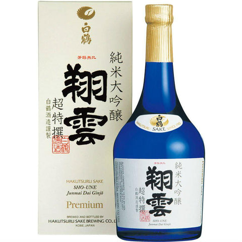 Hakutsuru Sho Une Jumnai Daiginjo Sake | De Wine Spot - Curated Whiskey, Small-Batch Wines and Sakes