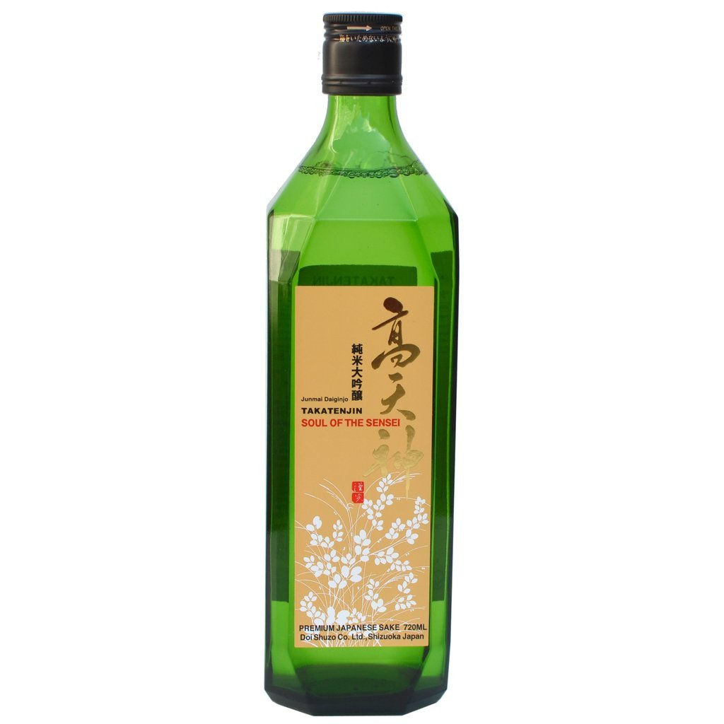 Takatenjin Soul of the Sensei Junmai Daiginjo Sake - De Wine Spot | Curated Whiskey, Small-Batch Wines and Sakes