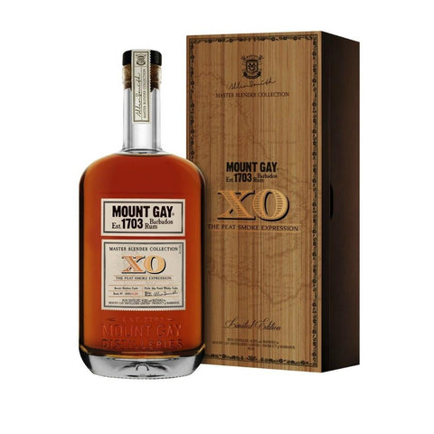 Mount Gay Master Blender Collection XO The Peat Smoke Expression Rum - De Wine Spot | Curated Whiskey, Small-Batch Wines and Sakes