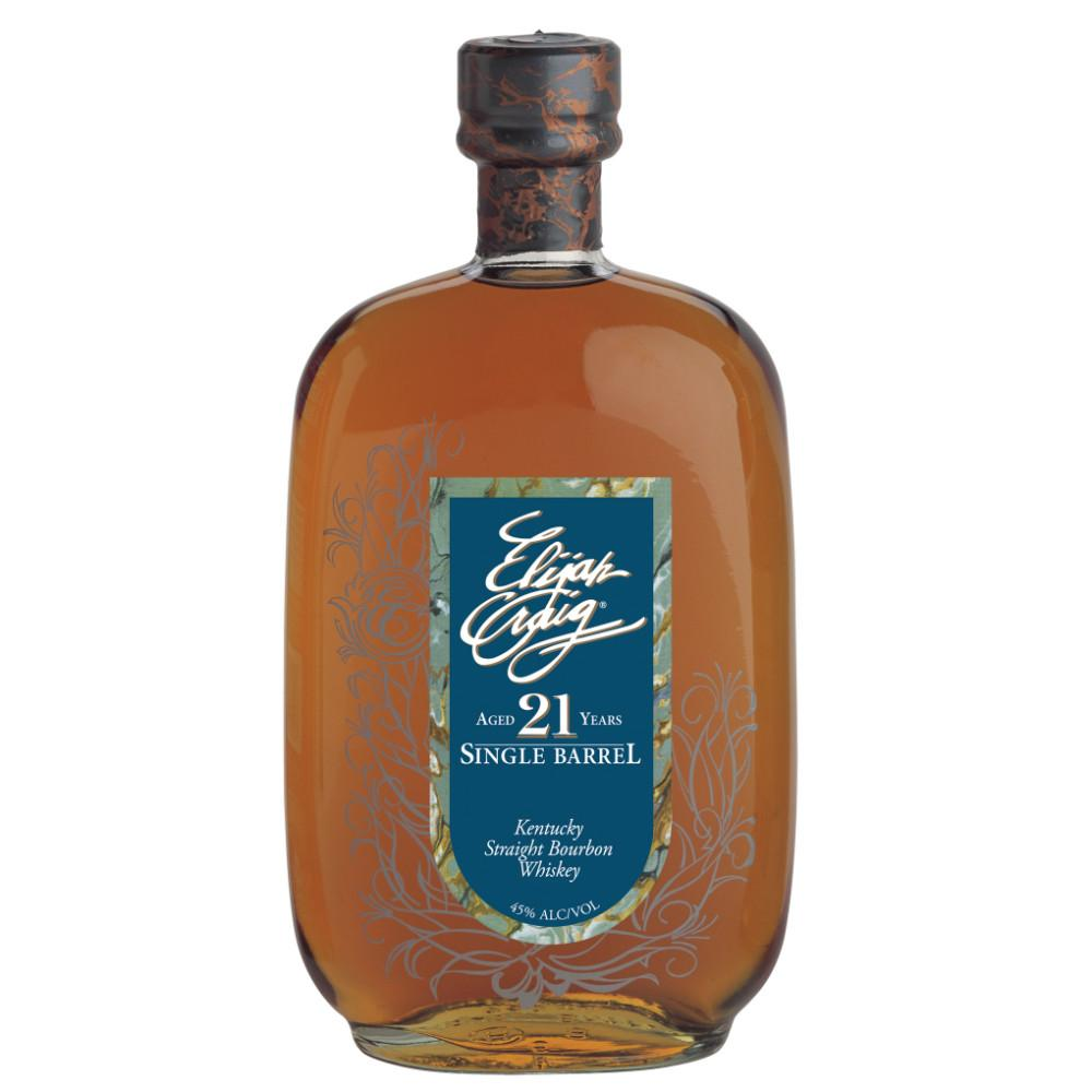 Elijah Craig 21 Years Single Barrel Kentucky Straight Bourbon Whiskey - De Wine Spot | Curated Whiskey, Small-Batch Wines and Sakes