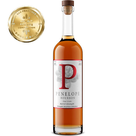 Penelope Four Grain Barrel Strength Bourbon - De Wine Spot | Curated Whiskey, Small-Batch Wines and Sakes