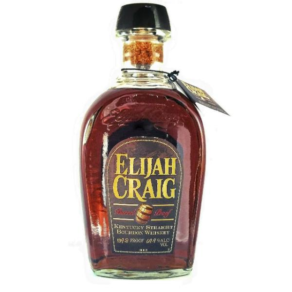 Elijah Craig Bourbon Kentucky Straight Bourbon Whiskey Barrel Proof