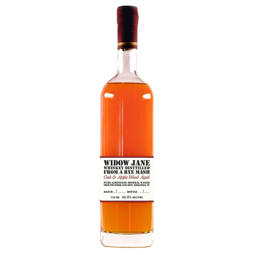 Widow Jane Rye Mash Oak & Applewood Aged | De Wine Spot - Curated Whiskey, Small-Batch Wines and Sakes