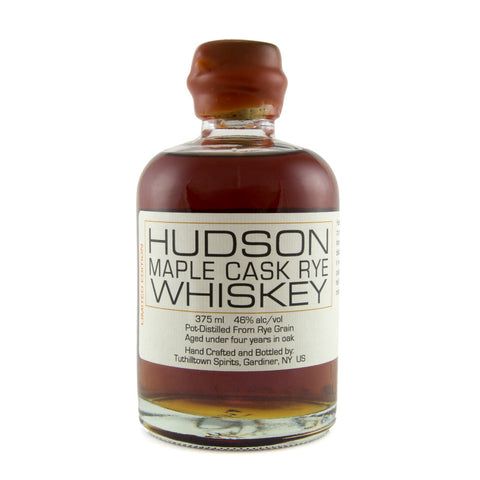 Hudson Maple Cask Rye Whiskey | De Wine Spot - Curated Whiskey, Small-Batch Wines and Sakes