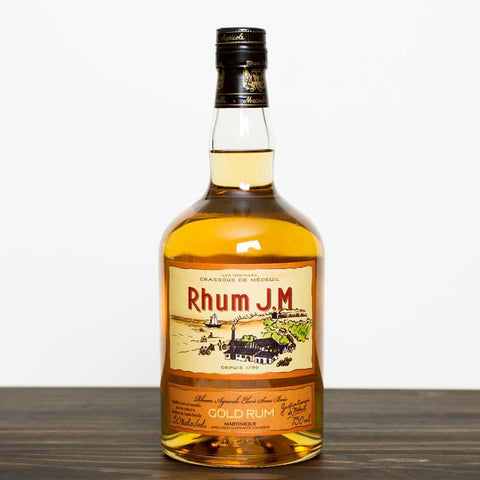 Rhum J.M Amber Rum | De Wine Spot - Curated Whiskey, Small-Batch Wines and Sakes