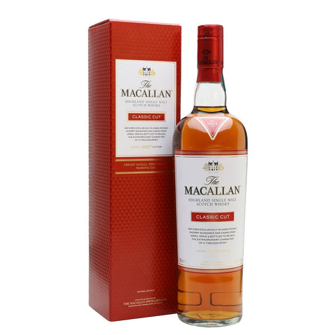 Macallan Limited 2018 Edition Classic Cut Highland Single Malt Scotch Whisky - De Wine Spot | Curated Whiskey, Small-Batch Wines and Sakes