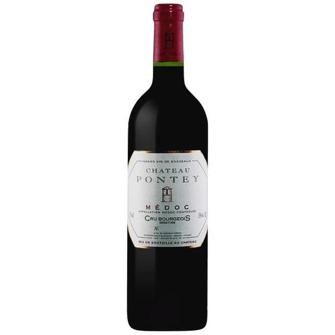 Chateau Pontey Cru Bourgeois Medoc - De Wine Spot | Curated Whiskey, Small-Batch Wines and Sakes