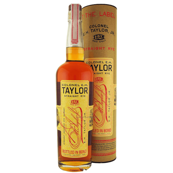 The Colonel E.H. Taylor Straight Rye Whiskey - De Wine Spot | Curated Whiskey, Small-Batch Wines and Sakes
