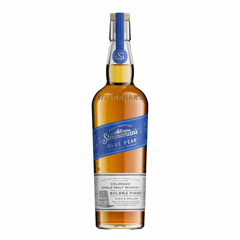 "Stranahan's ""Blue Peak"" Colorado Straight Single Malt Whiskey - De Wine Spot 