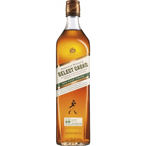 Johnnie Walker Select Casks 10 Yr Rye Finish Blended Scotch Whisky | De Wine Spot - Curated Whiskey, Small-Batch Wines and Sakes