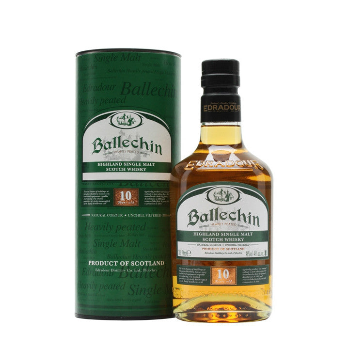 Edradour Ballechin 10 yrs Heavily Peated | De Wine Spot - Curated Whiskey, Small-Batch Wines and Sakes