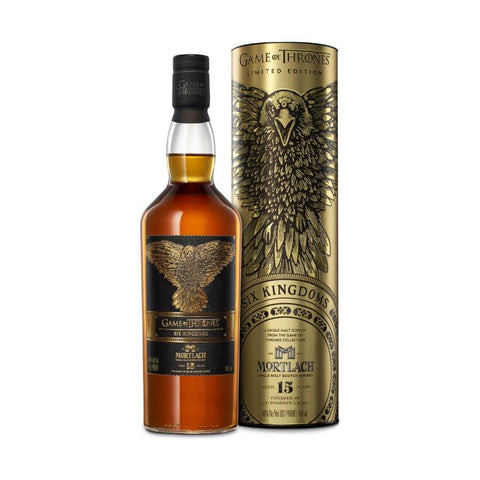 "Game Of Thrones ""Six Kingdoms"" Mortlach 15 Years Single Malt Scotch Whisky - De Wine Spot 
