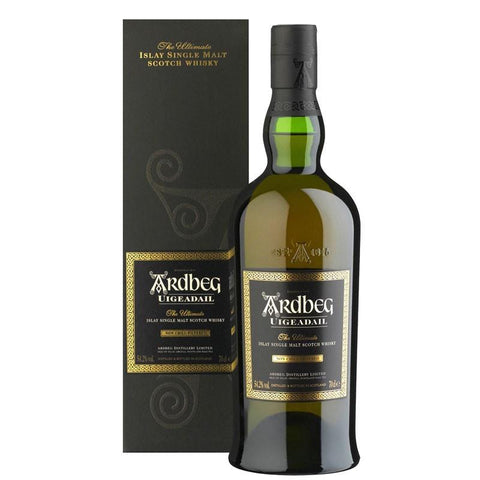 Ardbeg Uigeadail Islay Single Malt Scotch Whisky - De Wine Spot | Curated Whiskey, Small-Batch Wines and Sakes