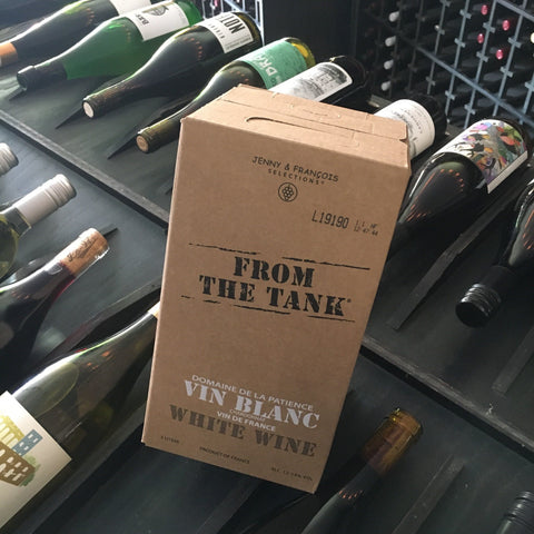 From the Tank Coteaux du Pont du Gard Vin Blanc - De Wine Spot | Curated Whiskey, Small-Batch Wines and Sakes