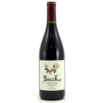 Bacchus Ginger's Cuvee Pinot Noir - De Wine Spot | Curated Whiskey, Small-Batch Wines and Sakes