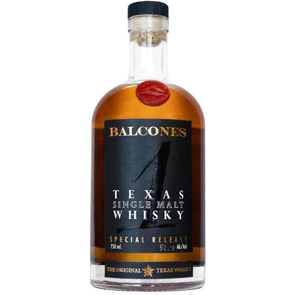 Balcones Distilling Texas Single Malt Whisky - De Wine Spot | Curated Whiskey, Small-Batch Wines and Sakes