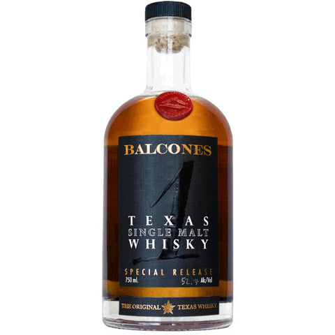 Balcones Distilling Texas Single Malt Whisky | De Wine Spot - Curated Whiskey, Small-Batch Wines and Sakes