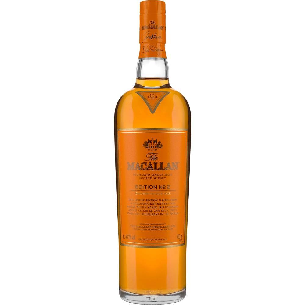 Macallan Edition No. 2 Single Malt Scotch Whisky - De Wine Spot | Curated Whiskey, Small-Batch Wines and Sakes