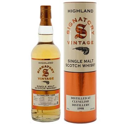 Clynelish 20 yrs Highland 86 Proof Signatory Single Malt Scotch Whisky - De Wine Spot | Curated Whiskey, Small-Batch Wines and Sakes