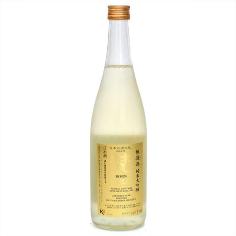 "Katoukichibee Shouten ""Born Gold"" Junmai Daiginjo Sake 