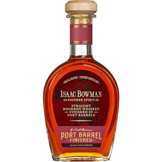 Isaac Bowman Port Finish Bourbon - De Wine Spot | Curated Whiskey, Small-Batch Wines and Sakes