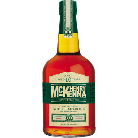 Henry Mckenna 10 Years Old Single Barrel Kentucky Straight Bourbon Whiskey - De Wine Spot | Curated Whiskey, Small-Batch Wines and Sakes