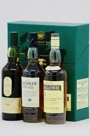 The Classic Malts Collection (Lagavulin 16yrs/Talisker 10 yrs/Cragganmore 12 yrs) Gift Set - De Wine Spot | DWS - Drams/Whiskey, Wines, Sake