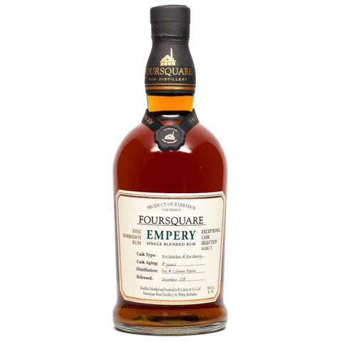 "Foursquare Distillery ""Mark IX ""Empery "" 14 Year Old Single Blended Rum"