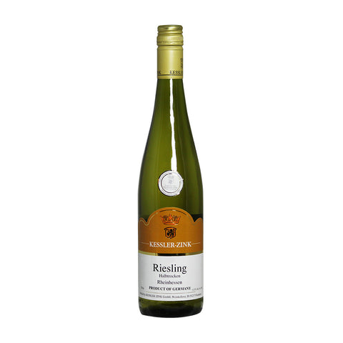Kessler-Zink Riesling Halbtrocken | De Wine Spot - Curated Whiskey, Small-Batch Wines and Sakes