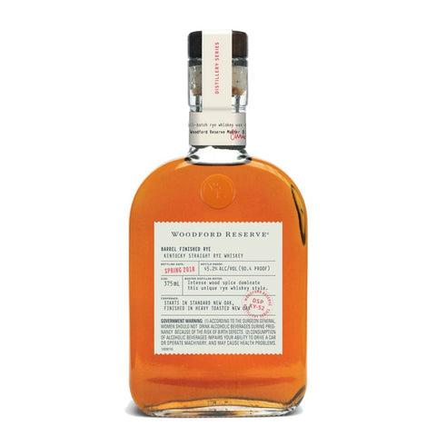 Woodford Reserve Barrel Finish Rye - De Wine Spot | Curated Whiskey, Small-Batch Wines and Sakes