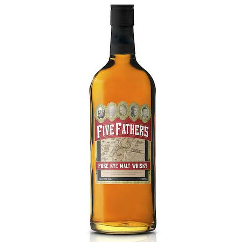 Old Pogue Five Fathers Pure Rye Malt Whiskey - De Wine Spot | Curated Whiskey, Small-Batch Wines and Sakes