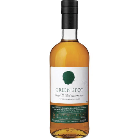 Green Spot Single Pot Still Irish Whiskey - De Wine Spot | Curated Whiskey, Small-Batch Wines and Sakes