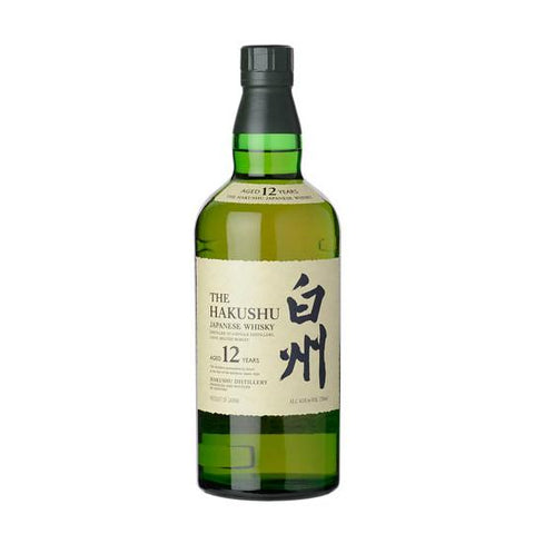 Hakushu 12 Years Single Malt Japanese Whisky - De Wine Spot | Curated Whiskey, Small-Batch Wines and Sakes