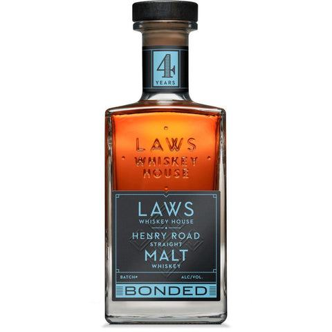 Laws Whiskey House Henry Road Straight Bonded Malt Whiskey - De Wine Spot | Curated Whiskey, Small-Batch Wines and Sakes