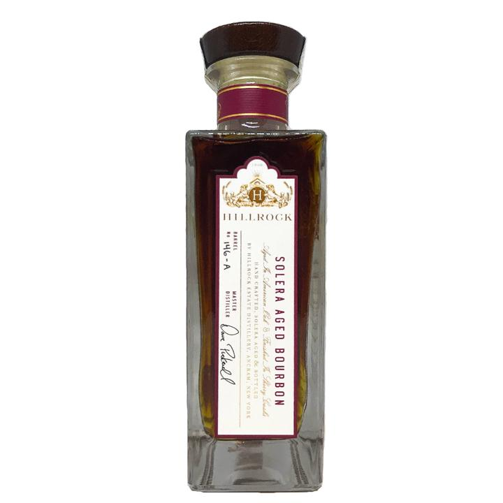"Hillrock Estate Distillery Solera Aged Barrel Proof Breaking Bourbon ""Hudson Confidential"" Pick"