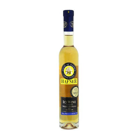 House of Hafner Icewine Chardonnay | De Wine Spot - Curated Whiskey, Small-Batch Wines and Sakes